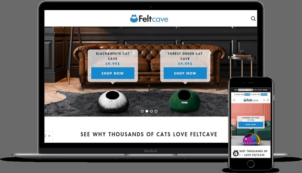 קטלוג מוצרים לחיץ FeltCave